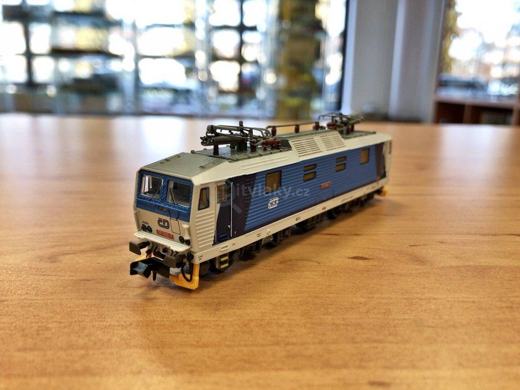 N - elektrická lokomotiva řady 371 ČD Najbrt / KUEHN 95020
