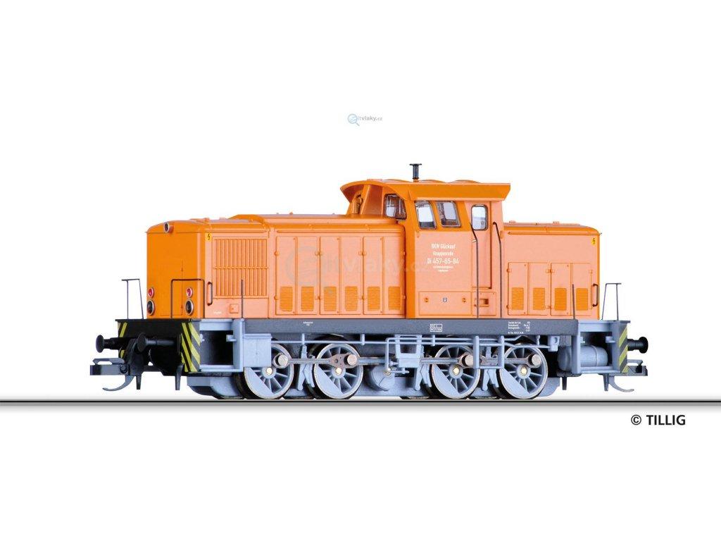 385885 tt dieselova lokomotiva v 60 d gluckauf knappenrode tillig 96158