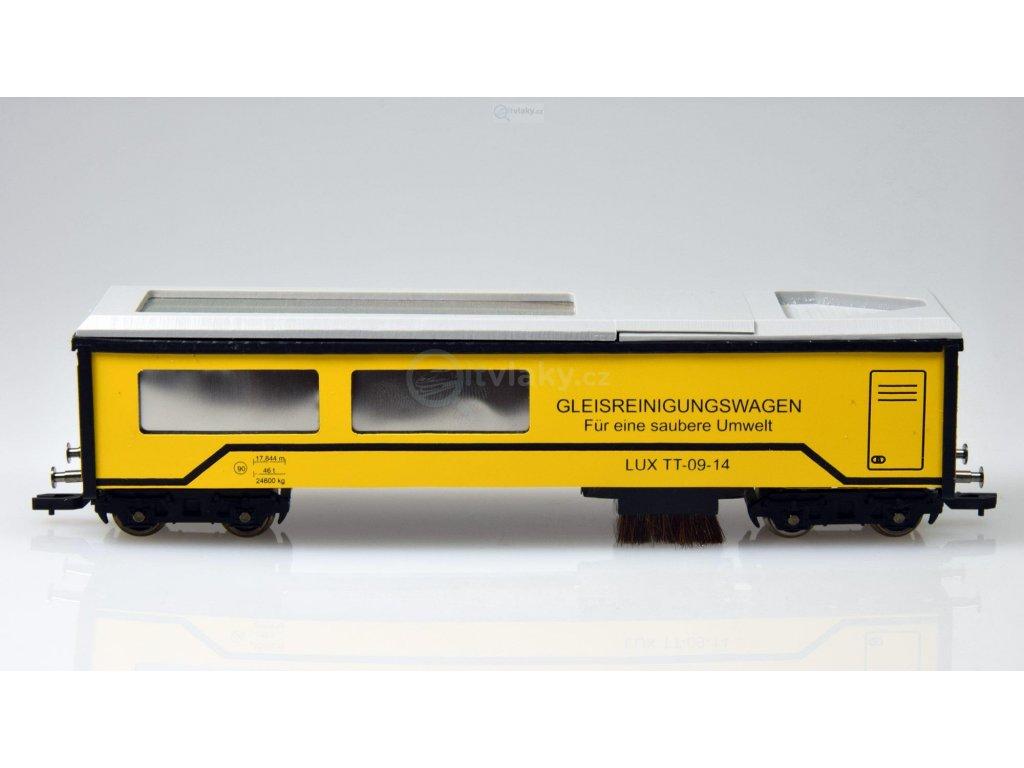 TT - vysávací vůz Lux-Modellbau SSF-09 / Lux-Modellbau 9740