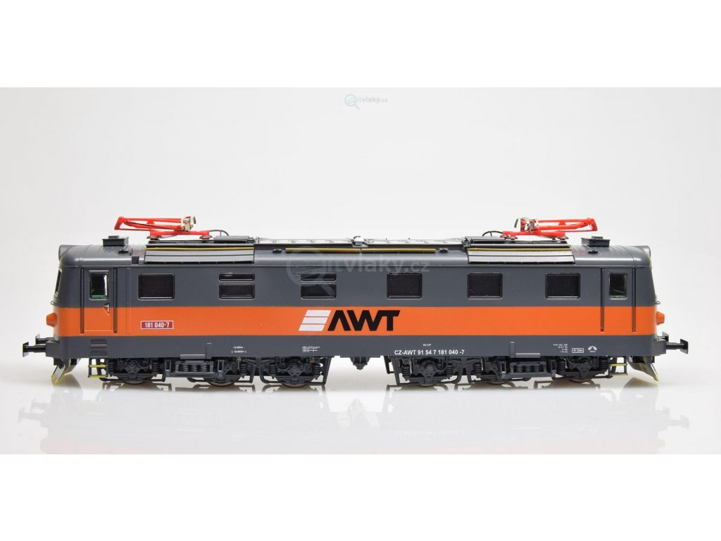 H0 - lokomotiva 181 040 AWT, ex E669.1 - šestikolák / MTB AWT181-040