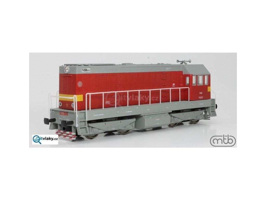 H0 - Dieselová lokomotiva T458 1172 ČSD Velký HEKTOR/ MTB H0721-T172
