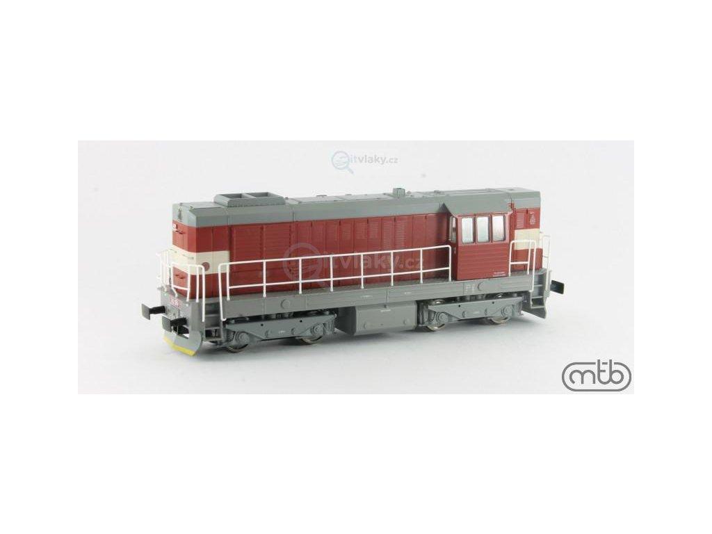 H0 - lokomotiva 742 086 ČD Kocour / MTB 742-086