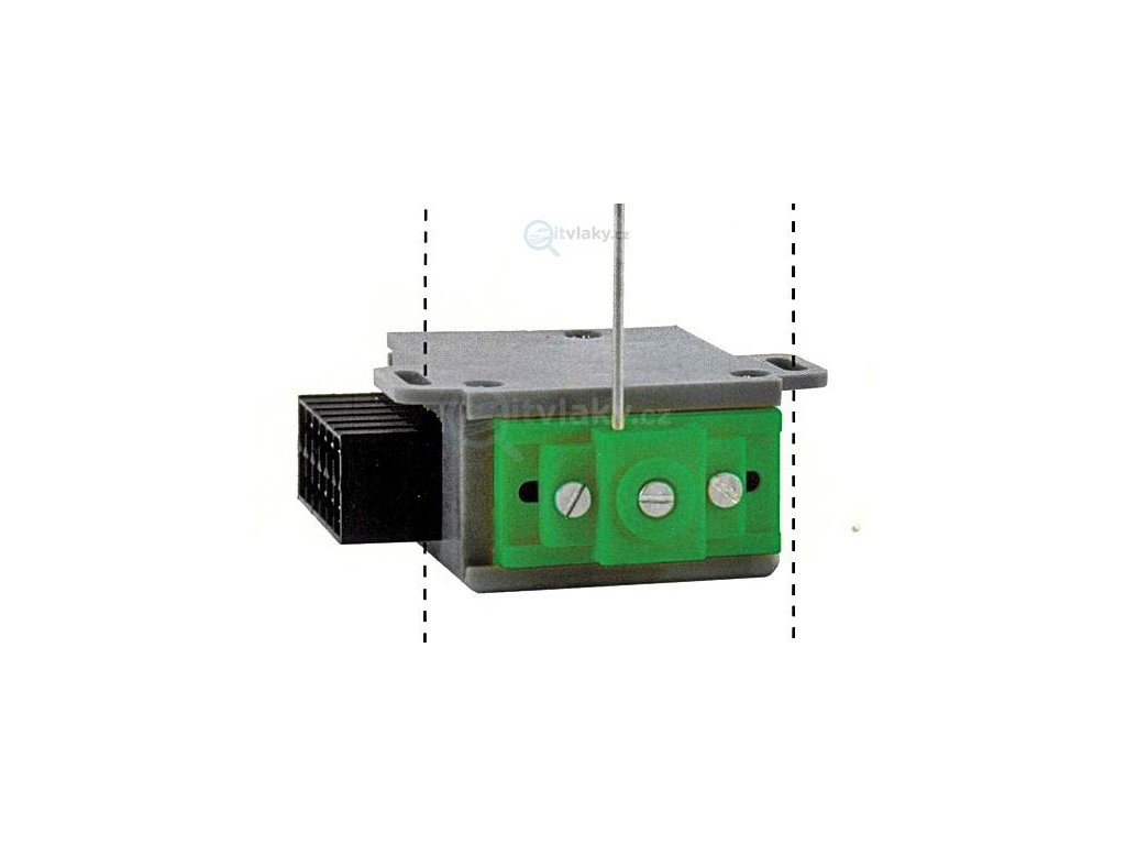 Motorický přestavník MP6 pro výhybky (impulsní spínání) / MTB