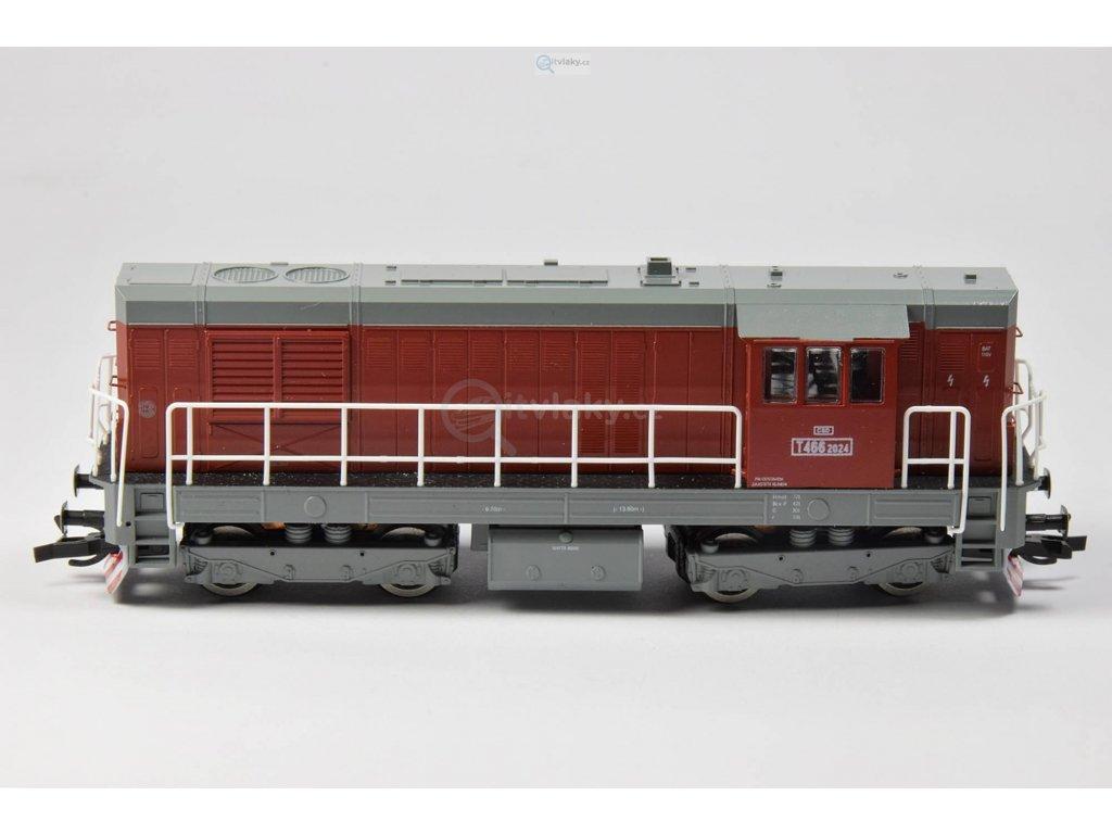 TT - Dieselová lokomotiva T466-2024 KOCOUR ČSD / MTB T466-2024