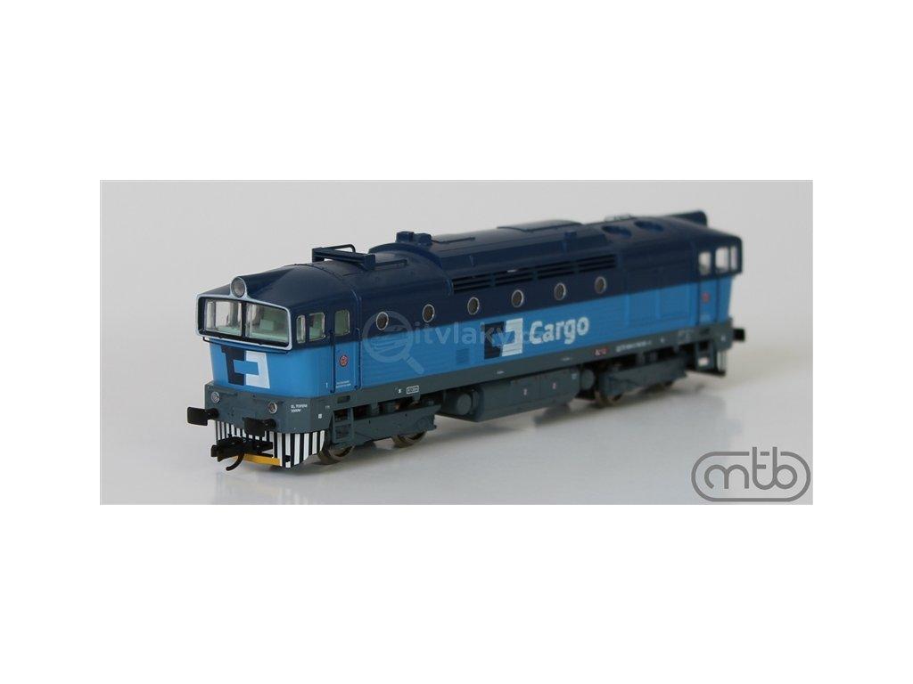TT - lokomotiva Brejlovec ČD CARGO řady 750 013  MTB