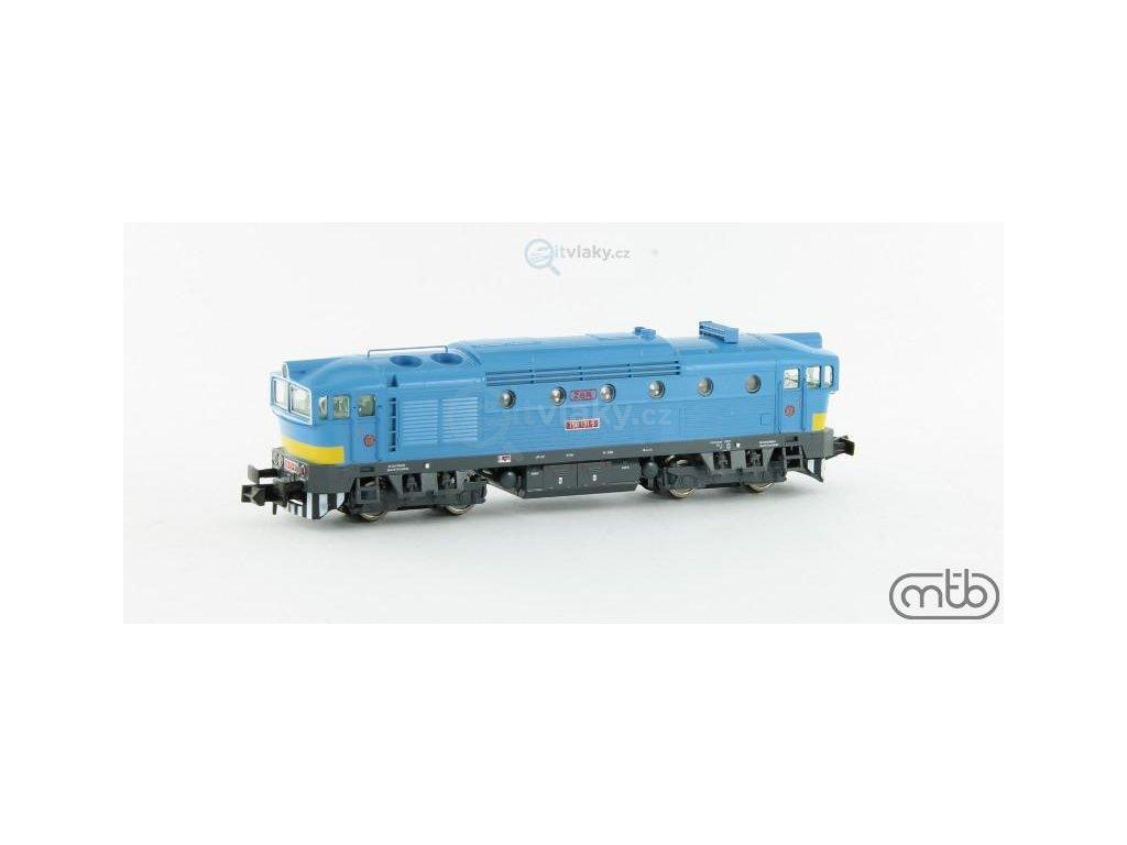 POSLEDNÍ! N - Dieselová lokomotiva Brejlovec 750 131, ŽSR / MTB
