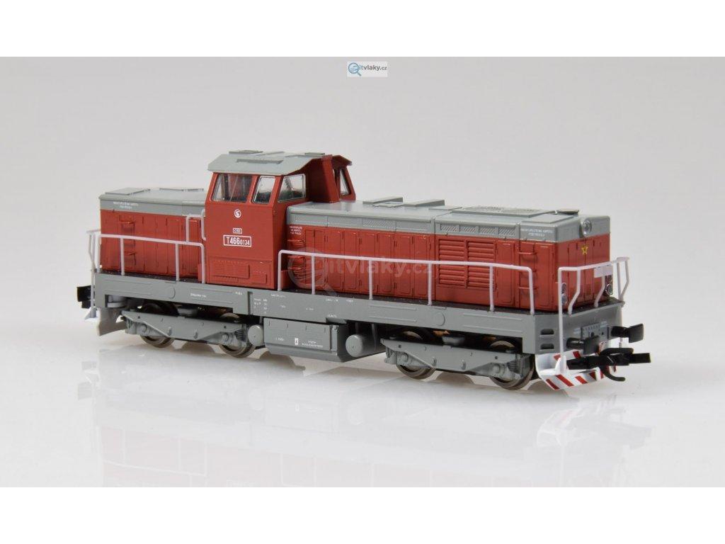 ARCHIV TT - dieselová lokomotiva T466.0134 ČSD Pielstick / MTB 4660134