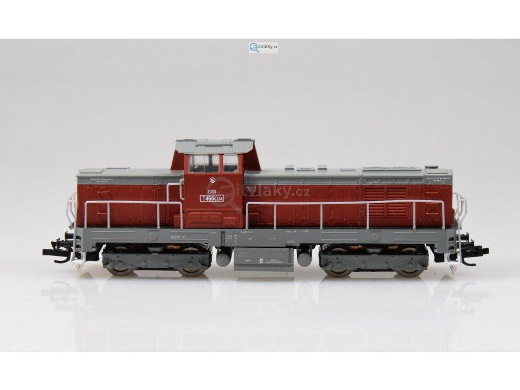 TT - dieselová lokomotiva T466.0134 ČSD Pielstick/ MTB TT4660134