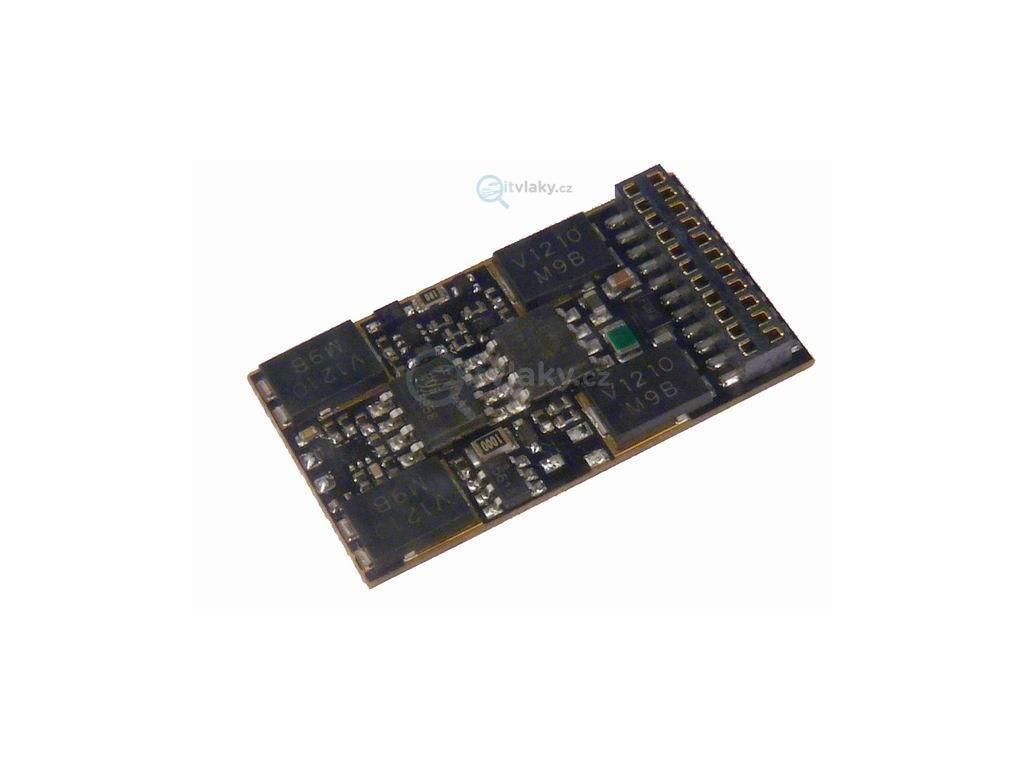 H0 dekodér ZIMO 632C pro MTC21 - TRIX a Märklin, 28 x 15,5 x 4mm