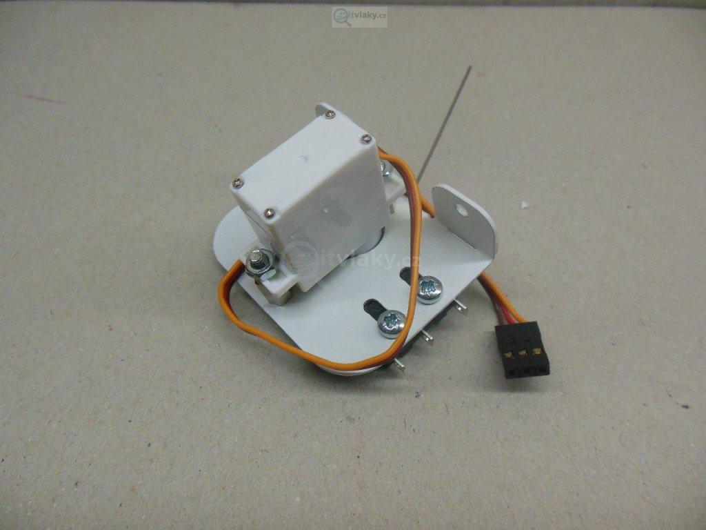 Univerzální servo přestavník vhodný pro DCC / Němeček NE980