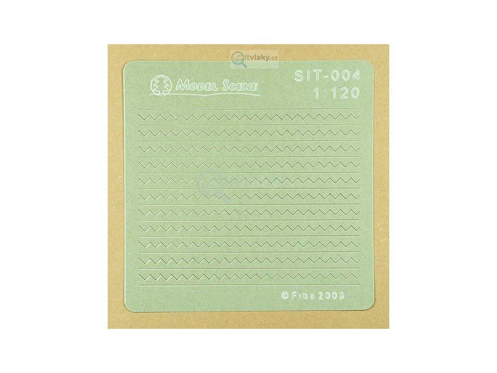 TT - Eternitové šablony / Model scene SIT-004
