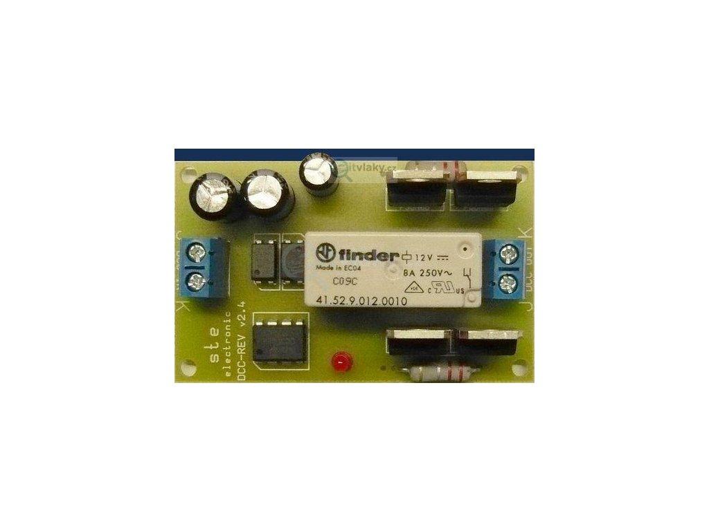 DCC - modul Reverz pro průjezd smyčkou / STE 023