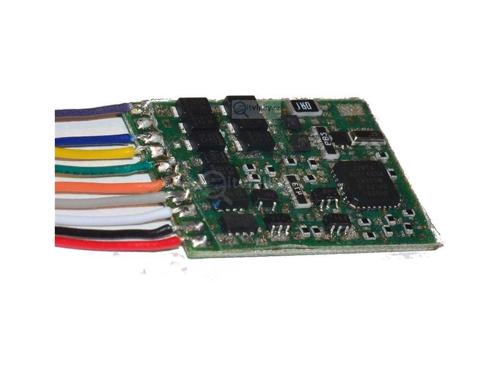 SLEVA! H0 - funkční dekodér 6 výstupy /VIESSMANN 5249