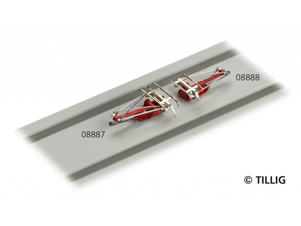 TT - Polopantograf pro BR 189 - německý typ / Tillig 08887