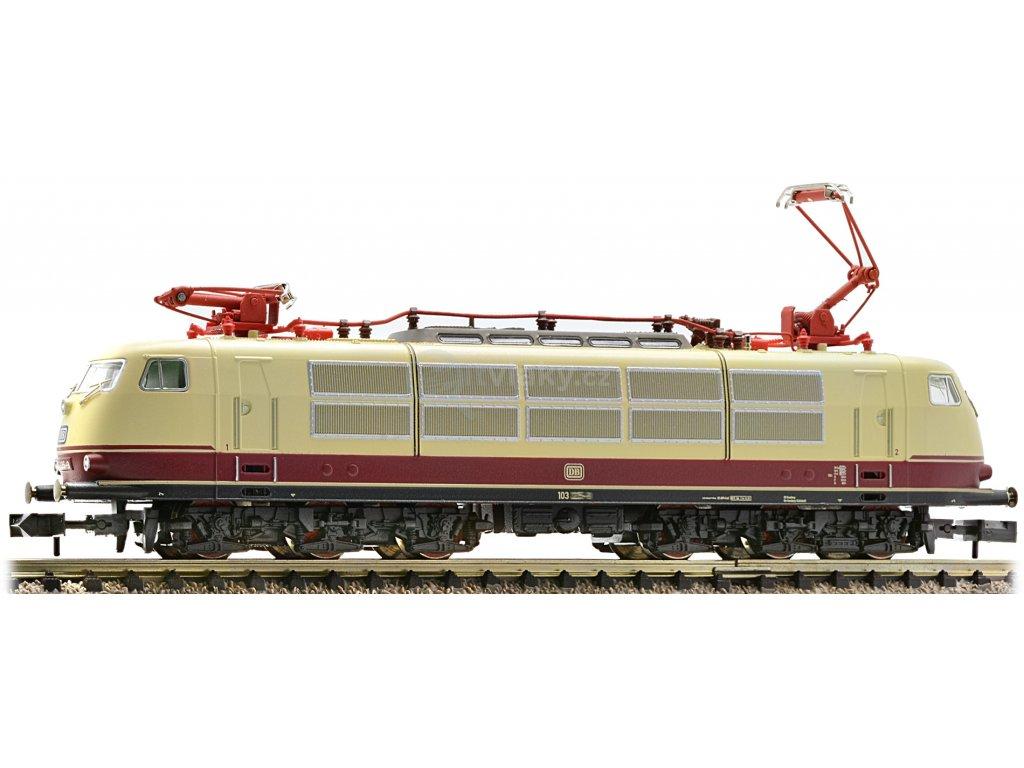 DCC/ZVUK - N - Elektrická lokomotiva BR 103.1, DB / Fleischmann 737891