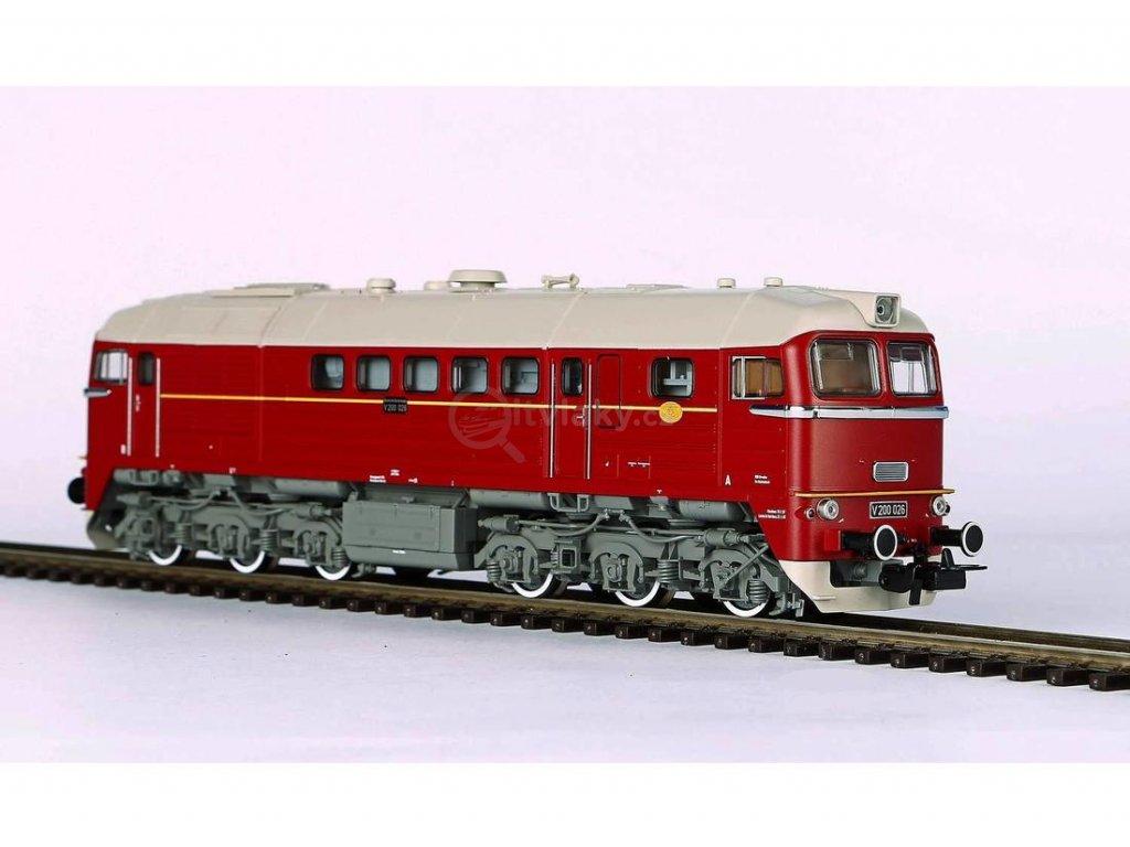 H0 - dieselová lokomotiva V 200, Sergej DR / PIKO 52800