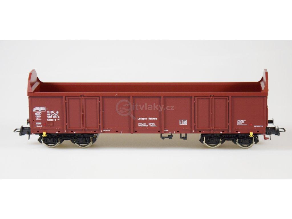 H0 - otevřený nákladní vůz Ealos-t, ČD Cargo / ROCO 76942