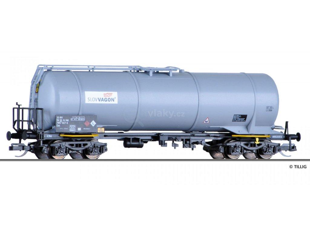 TT - Cisternový vůz Zas SLOVVAGON a.s. SK / Tillig 18461
