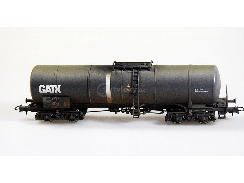 H0 - Cisternový vůz s patinou, GATX - 6 typů čísel  / ROCO 759XX
