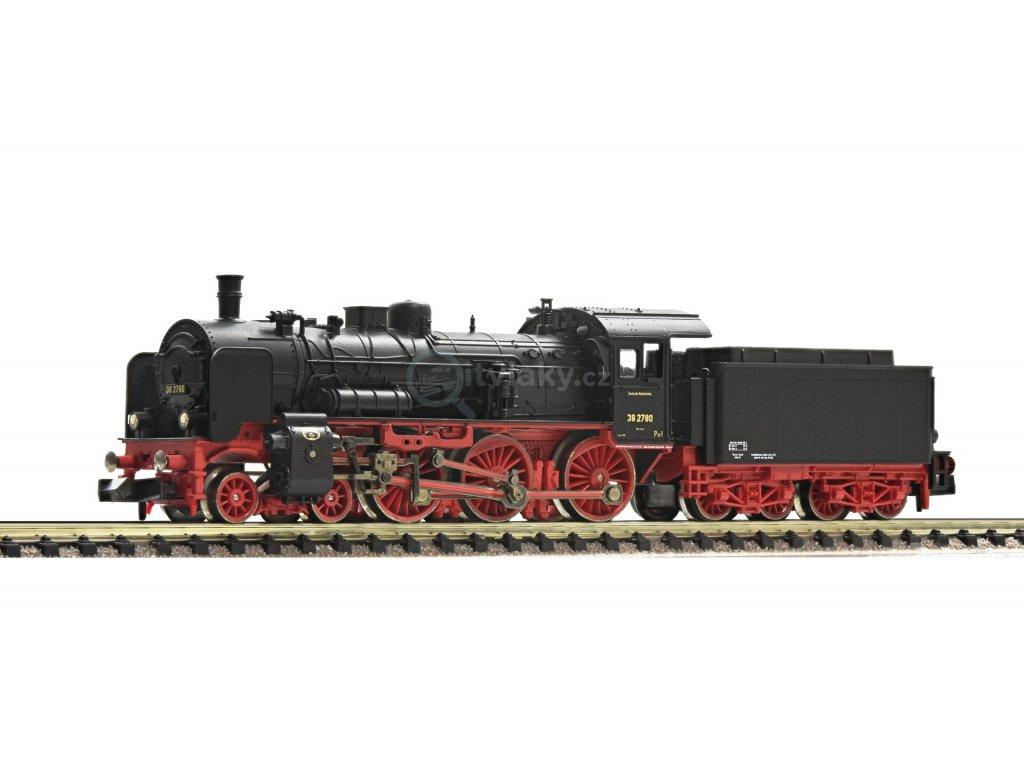 DCC - N - Parní lokomotiva BR 38.10-40, DRG, Ep. II / Fleischmann 715982
