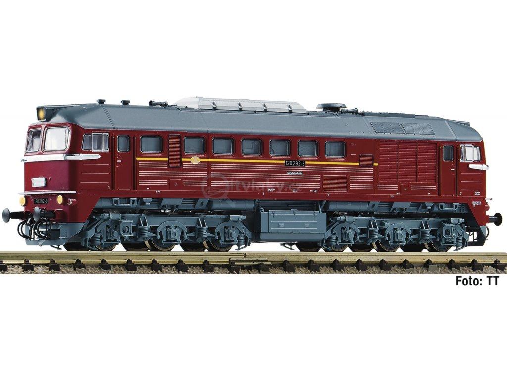 N - Dieselová lokomotiva BR 120, DR, Ep. IV / Fleischmann 725209