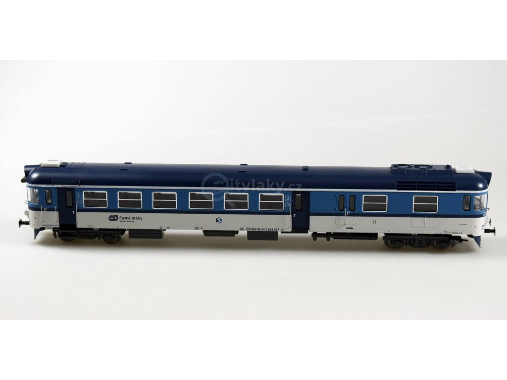 H0 - motorový vůz ČD 854 027 / MTB854027