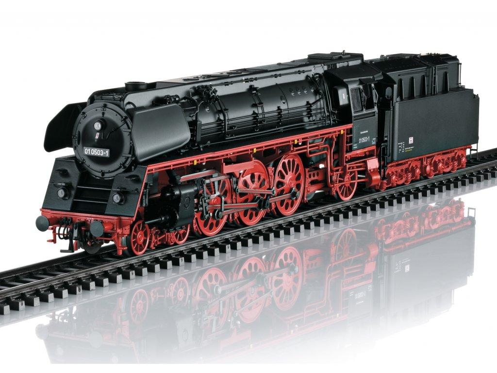 DCC/ZVUK - H0 - Parní lokomotiva řady 01.5, DR / TRIX 22909