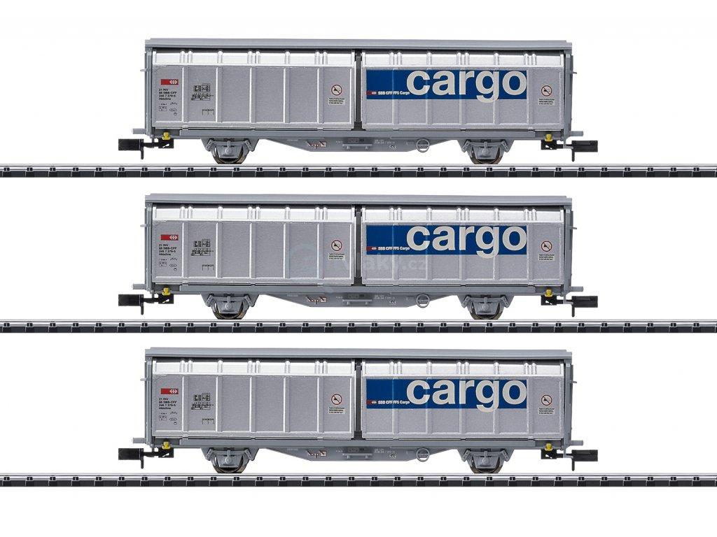 429438 guterwagen set sbb cargo trix 15282