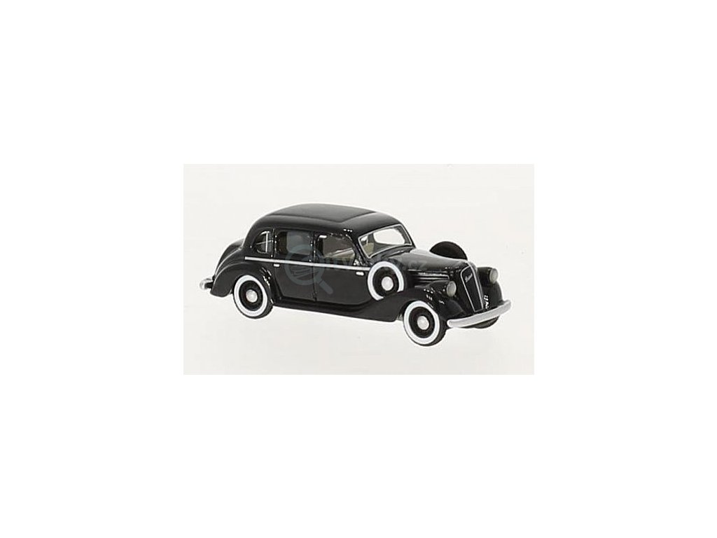 H0 - auto Škoda Superb 913 černý (1938) / Brekina 87481