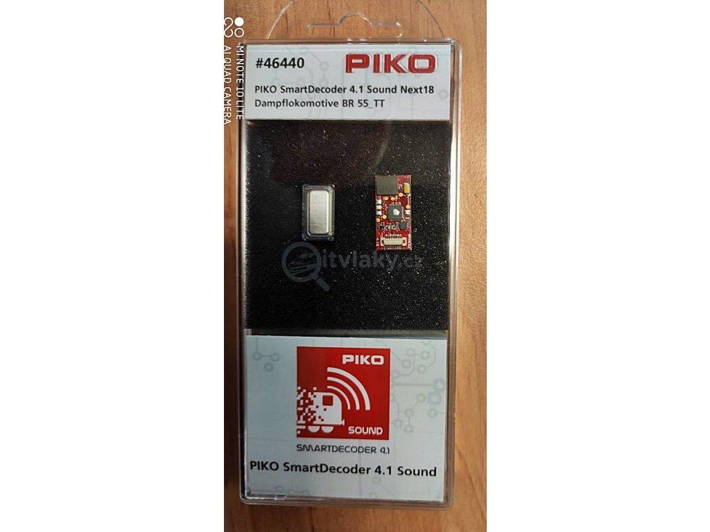 TT - zvukový lokodekodér a repro pro BR 55 (ČSD 415) NEM 651 / PIKO 46440