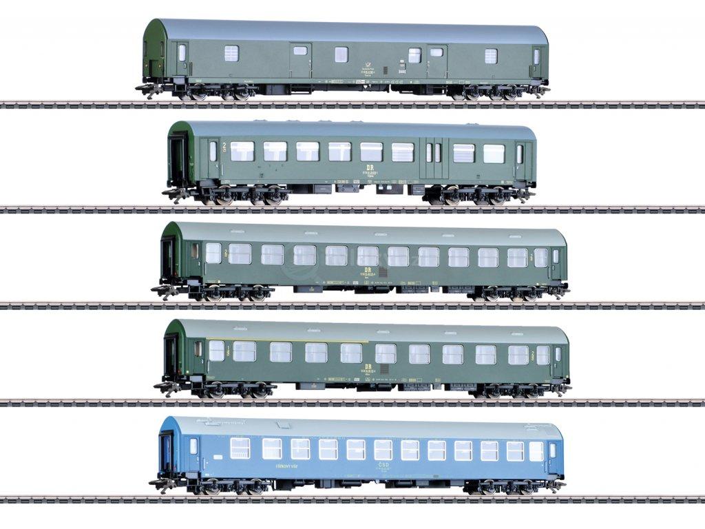 ARCHIV H0 - set osobních vozů DR (ČSD)  / Märklin 42982