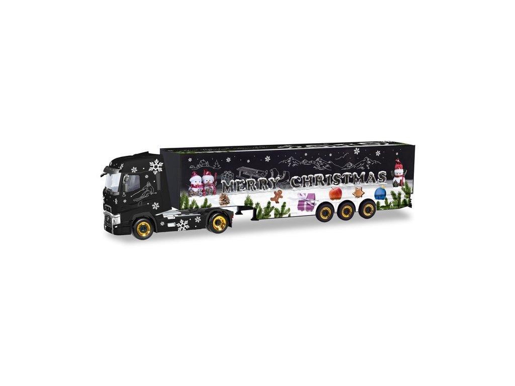 432288 1 h0 renault t box semitrailer truck herpa weihnachtstruck 2019 herpa 310710