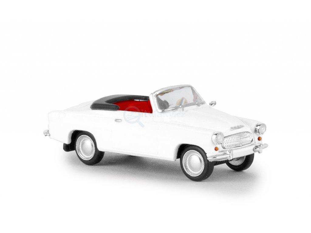 ARCHIV H0 - auto Škoda Felicia bílá kabriolet / Brekina 27431