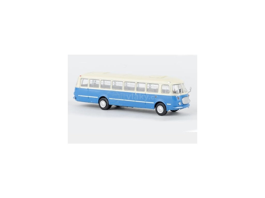 H0 - autobus JZS Jelcz 043 modrý / Brekina 58255