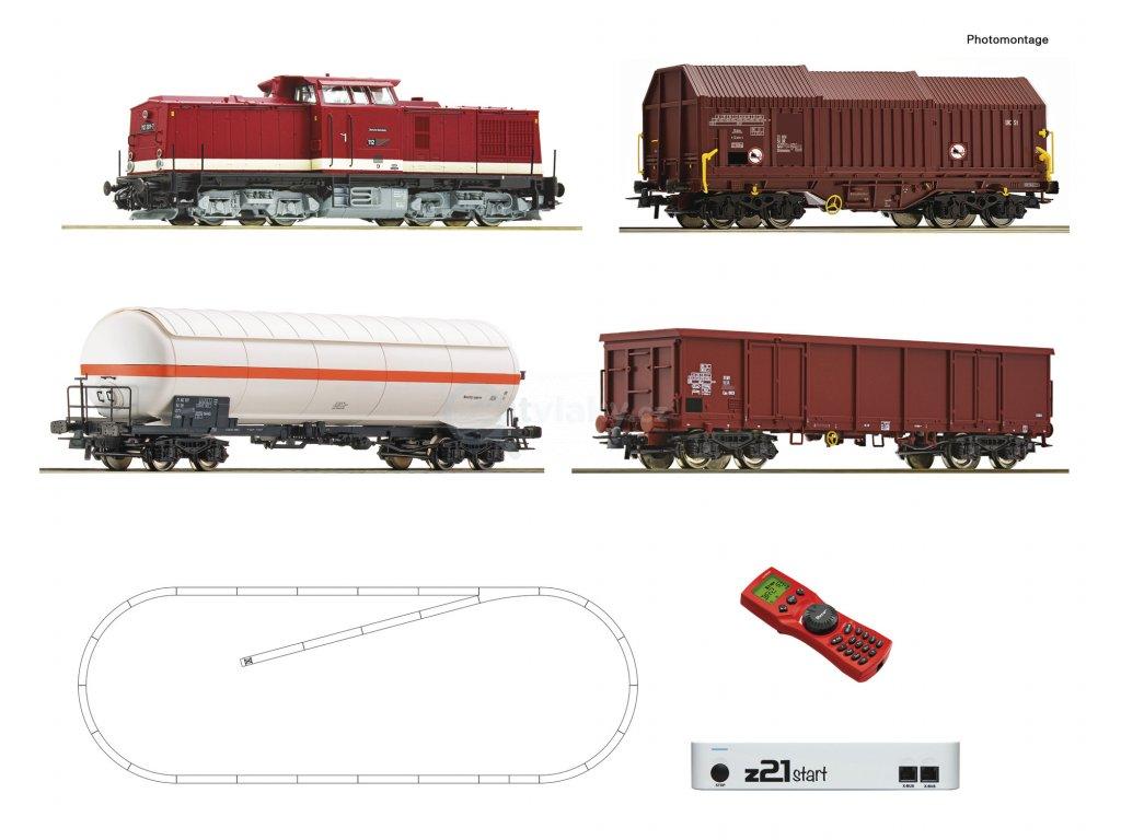 H0 -  DCC Start set - lokomotiva V100 + Gz DR, z21start + MM/ Roco 51321