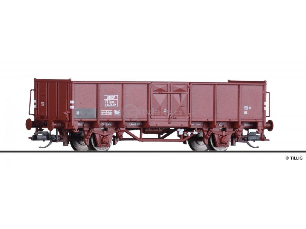 TT - otevřený vůz L  FS, Ep. III / Tillig 14077