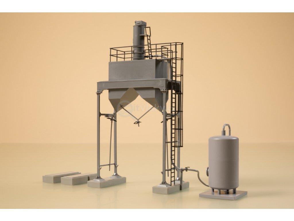 H0 - Zařízení pro zasypání pískem / Auhagen 11461