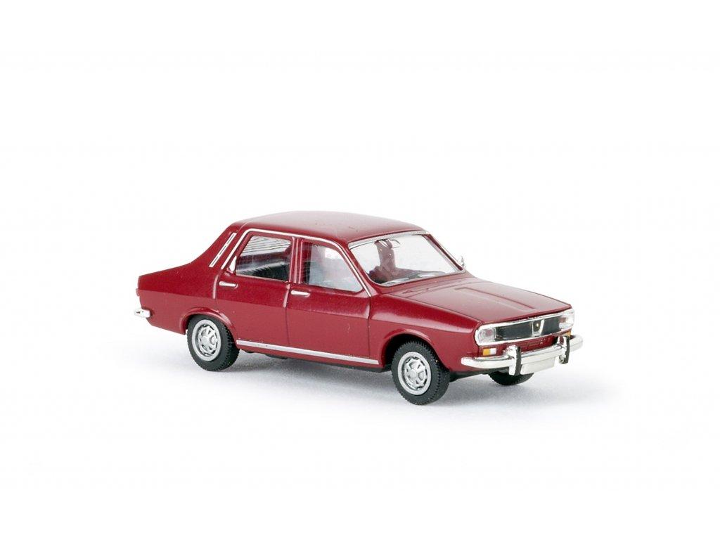 ARCHIV H0 - auto Renault 12 TL tmavě červený / Brekina 14520