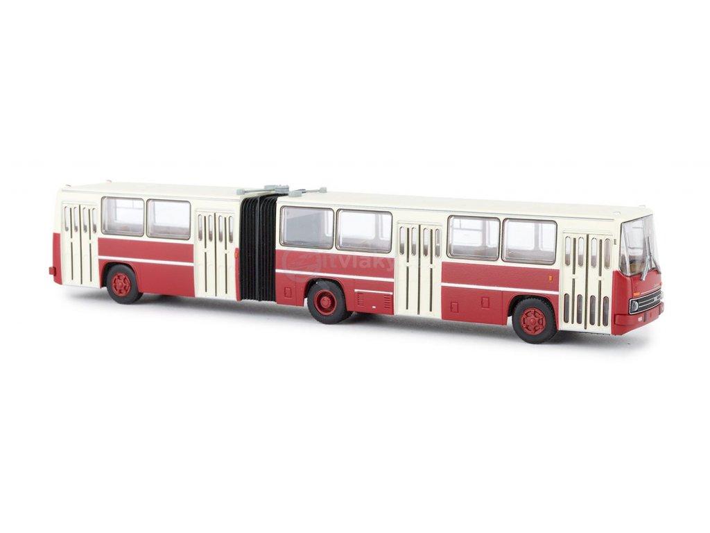 H0 - Ikarus 280.02 bílá červený / Brekina 59707