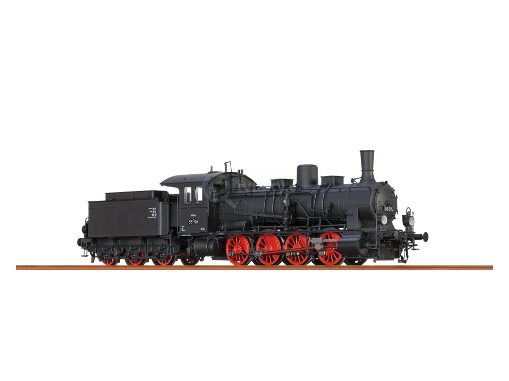 SLEVA! H0 - parní lokomotiva třídy G 7.1 BBÖ, ep. III, v ČR značená ř. 413 / Brawa 40716