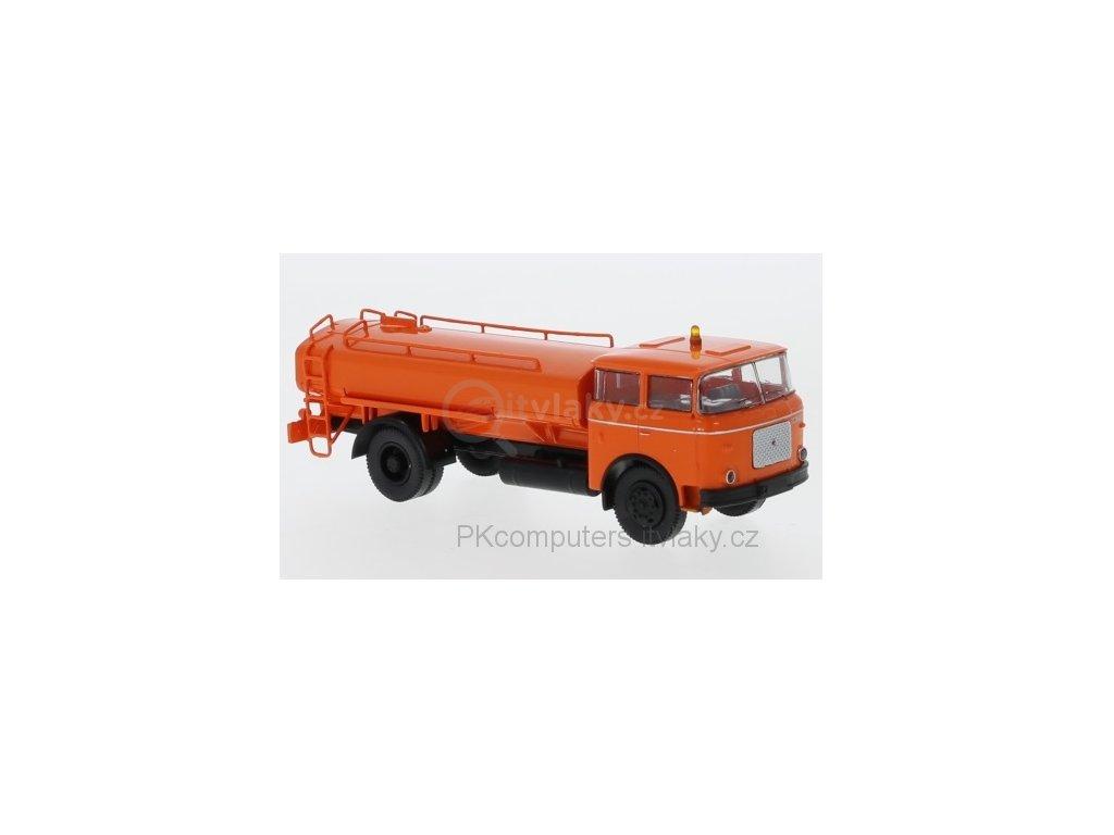 H0 - kropící vůz LIAZ 706 oranžový 1970 CZ / Brekina 71870