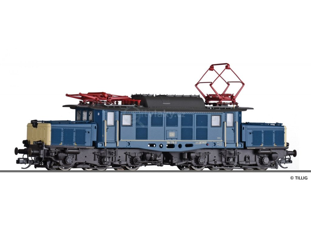 TT - elektrická lokomotiva BR 194  DB, Ep. IV / TILLIG 02404