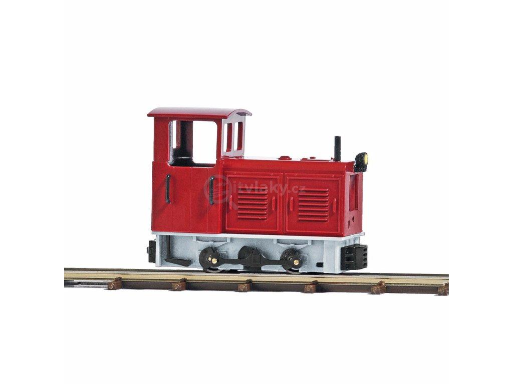 H0/H0f - průmyslová lokomotiva LKM Ns 2f, světlo / Busch 12123