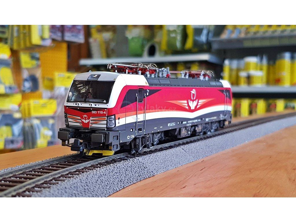 H0 - DCC/ZVUK elektrická lokomotiva 383 ZSSK Cargo Vectron / ROCO 73914