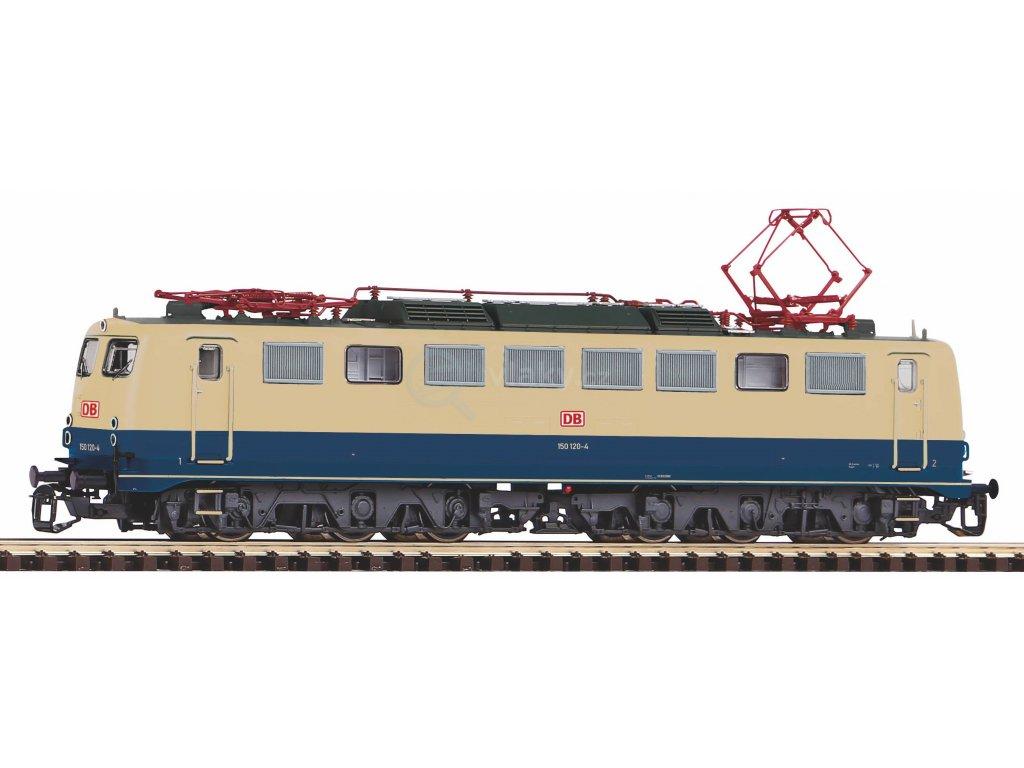 TT - DCC/ZVUK elektrická lokomotiva BR 150 DB AG V / PIKO 47463