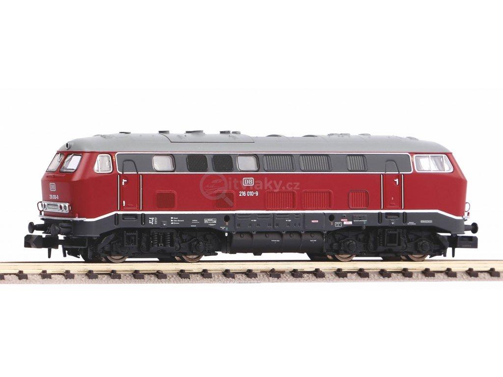 N - DCC/ZVUK dieselová lokomotiva 216 010 DB  / PIKO 40521