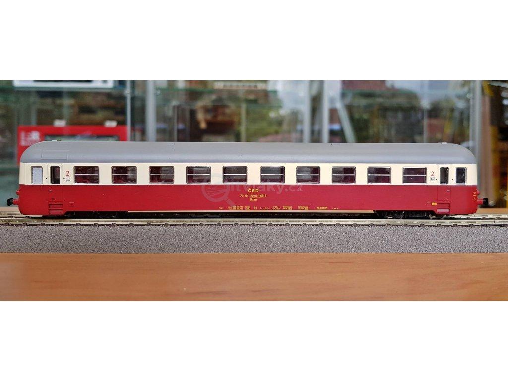 TT - přípojný vůz Balm 050 169 ČSD / MTB