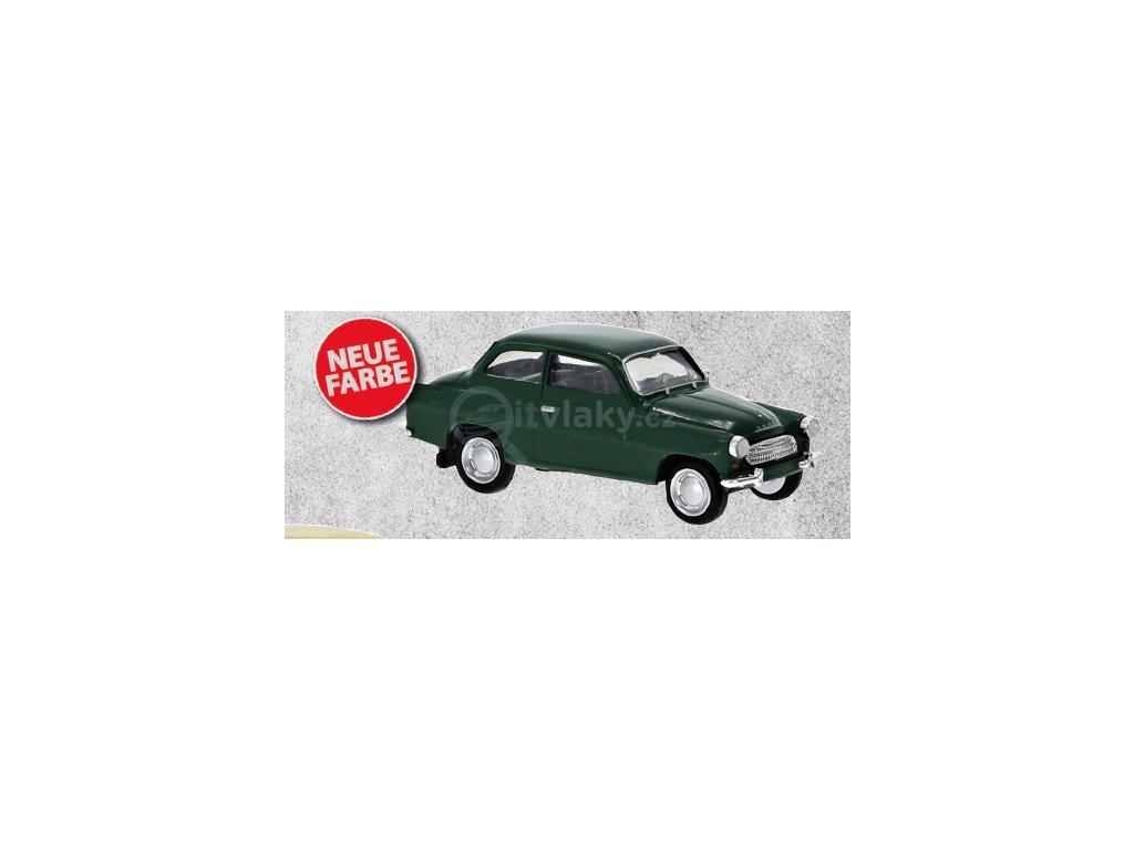 H0 - Škoda Octavia 1960, zelená  / Brekina 27461