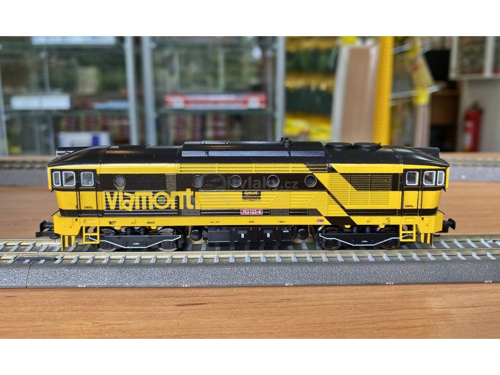 TT - lokomotiva Brejlovec Viamont 753 723 / MTB TT753723