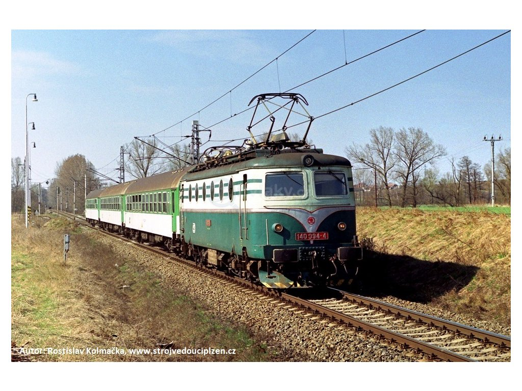 TT - el. lokomotiva 140 094 (ex.E499) ČD Bobina /  MTB 140094